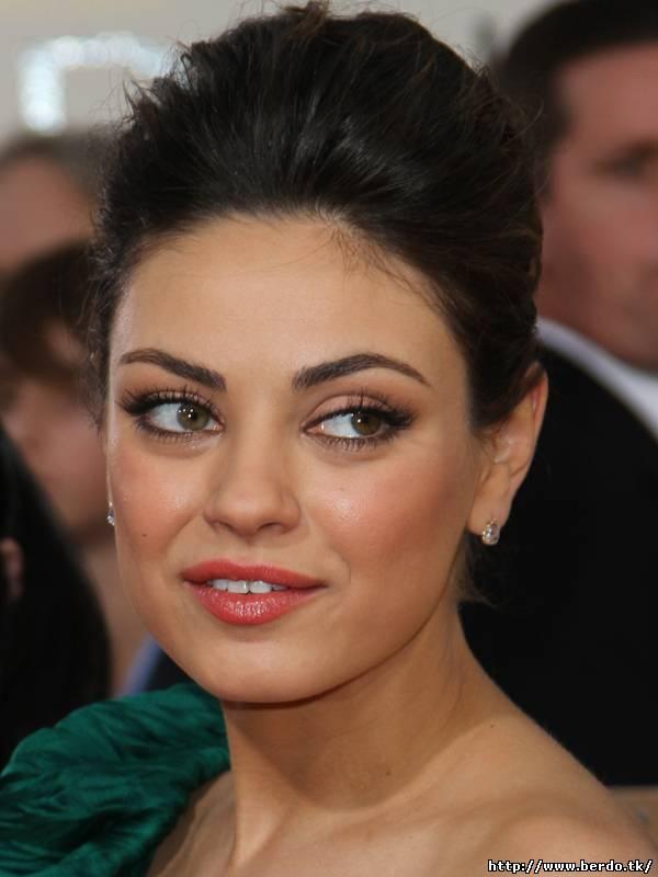 Mila kunis eye makeup